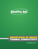 GeoPro Importance of Grout Thermal Conductivity
